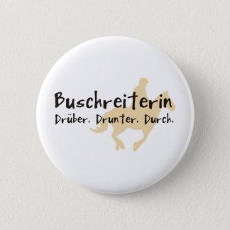Buschreiter Runder Button 5,7 Cm