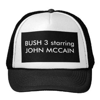 BUSH 3 die Hauptrolle spielender JOHN MCCAIN Kult Cap