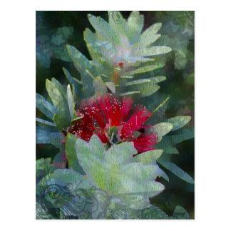 Bush-Blume Postkarte