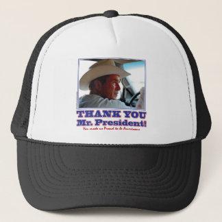 Bush-Danken-Sie-Amerikanisch Truckerkappe