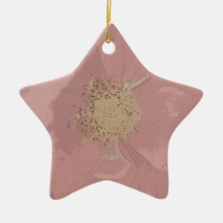 Bush-Rosen DullPastel Keramik Ornament