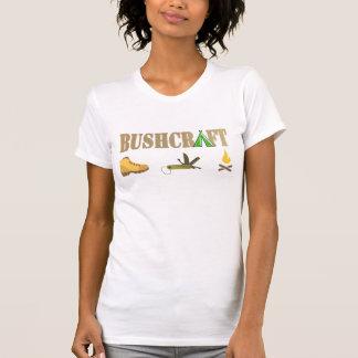 bushcraft hölzernes Blicklogo-Namet-shirt 5 T-Shirt