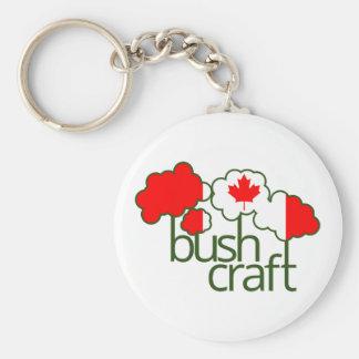 Bushcraft Kanada Flagge Schlüsselanhänger