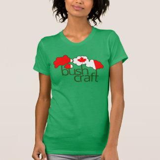 Bushcraft Kanada Flagge T-Shirt