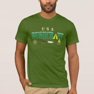 bushcraft Logo-Namet-shirt T-Shirt