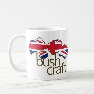 Bushcraft Vereinigtes Königreich Flagge Kaffeetasse