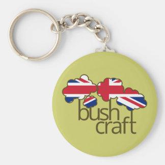 Bushcraft Vereinigtes Königreich Flagge Schlüsselanhänger