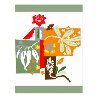 Bushland Flora - Giftcard Postkarte
