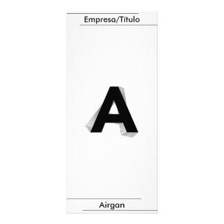 Business,- Zu -, Airgan Individuelle Werbe Karte