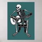 Busker-Knochen Poster