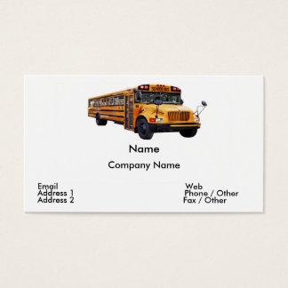Bustreiber-Visitenkarte Visitenkarte