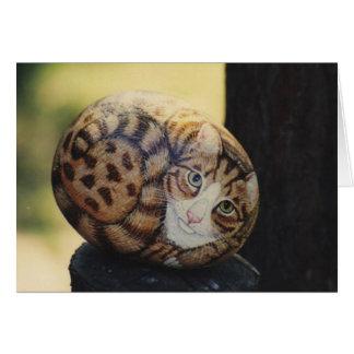 """""""Buttbutt"""" Katzen-Felsenkarte Karte"""