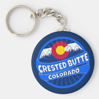 Butte-Colorado-Gebirgsexplosion keychain mit Haube Schlüsselanhänger