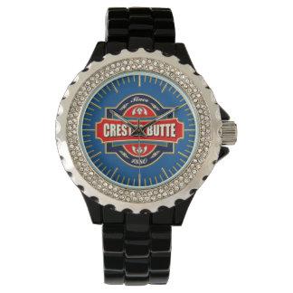 Butte-mit Haube alte Aufkleber-Uhr Uhr