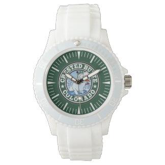 Butte-Schneemann-Kreis-Uhr mit Haube Uhr