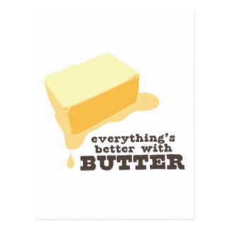 Butter Postkarte