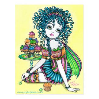 Butterblume-feenhafte Postkarte