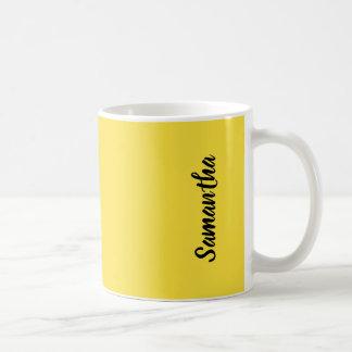 Butterblume-sonniger gelber Normallack Kaffeetasse