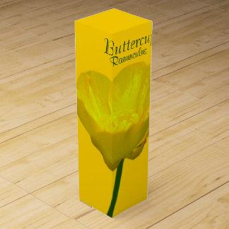 Butterblume-Wein-Kasten-kundenspezifischer Wein-Geschenkverpackung