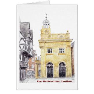 Buttercross, Ludlow Karte
