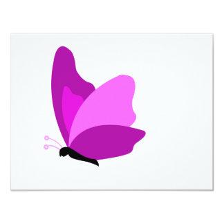butterfly4 10,8 x 14 cm einladungskarte