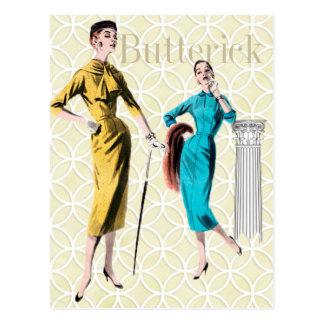 Butterick Postkarte