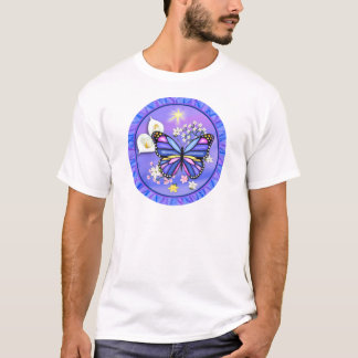 Butterly u. Calle Lilie - lila T-Shirt