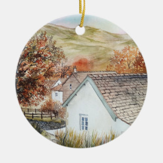Buttermere Dorf, See-Bezirk, England Keramik Ornament