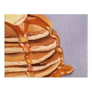 Buttermilch-Pfannkuchen Shortstack Postkarte