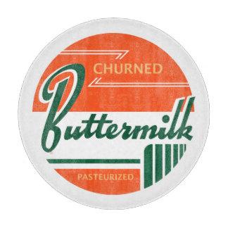 Buttermilch:: Retro Schneidebrett