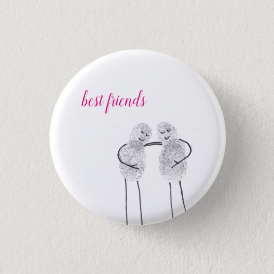 "Button ""best friends"""