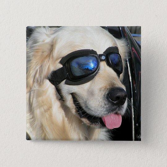 Button Cool-Dog    Biker-Dog