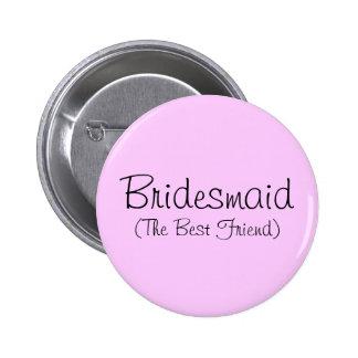 Button der Brautjungfern-(der beste Freund)
