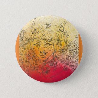 Button des Dämon-Baby- 