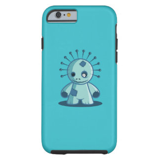 Button-HauptVoodoo-Puppe Iphone Fall Tough iPhone 6 Hülle