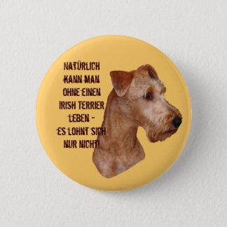 """Button """"Irish Terrier"""""""