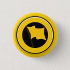 Button: kleines Antikom-Logo Runder Button 2,5 Cm