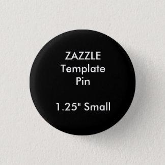 Button-Raum-Schablone des kundenspezifischen Runder Button 3,2 Cm