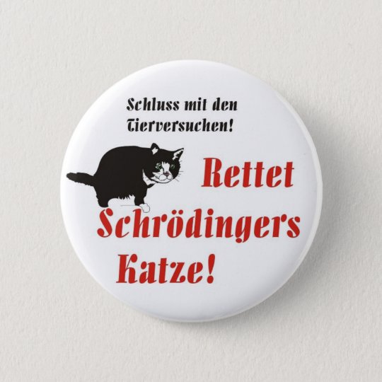 Button Schrödingers Katze