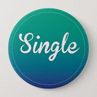 "Button ""Single"" türkis"