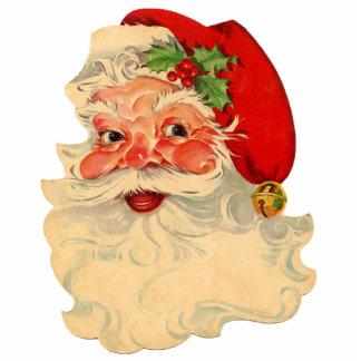 Button Weihnachtsmanns 1 Fotoskulptur Button