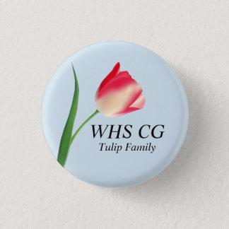 Buttone der Tulpe-Familien-CG Runder Button 3,2 Cm