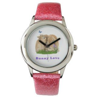 buuny Liebe Armbanduhr