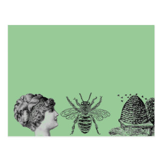 buzzart postcard postkarte
