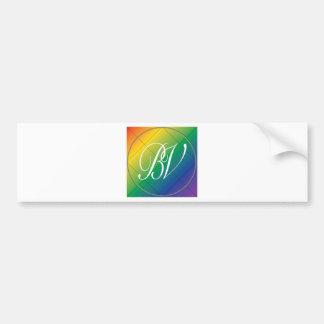 BV-Gay Pride-Sammlungs-Logo Autoaufkleber