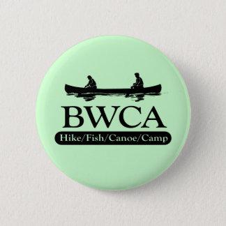 BWCA/Wanderungs-Fisch-Kanu-Lager Runder Button 5,1 Cm