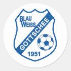 BWG Wappen-Aufkleber Runder Aufkleber
