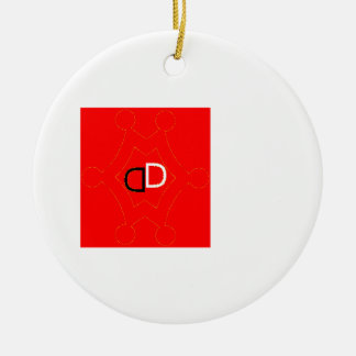 by Démon verlorener Keramik Ornament