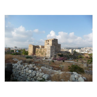 Byblos, der Libanon Postkarte
