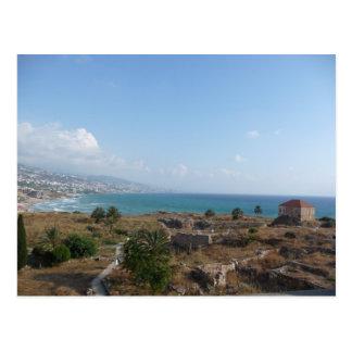 Byblos der Libanon Postkarte